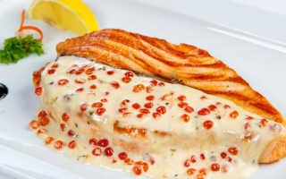 Семга, запеченная в сливках в духовке – вкуснейшее блюдо для всей семьи