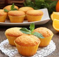 Рецепт маффинов с апельсинами