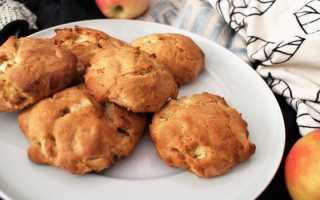 Яблочное печенье — 7 самых вкусных рецептов