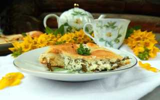 Осетинские пироги с сыром и творогом – пошаговый рецепт с фото