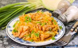 Сочное рагу и лёгкая солянка из тушёной капусты с курицей в мультиварке. Курица с капустой в мультиварке – легко и сытно