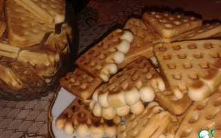 Домашнее печенье в форме