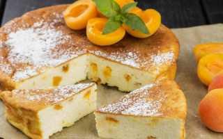 Пирог с абрикосами: пошаговый рецепт вкусной выпечки с фото