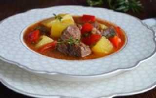 Суп гуляш из мяса — в поисках идеала