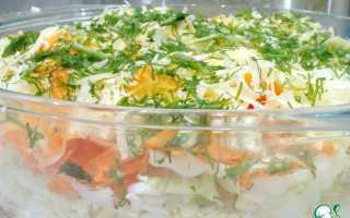 Слоеный салат с морковью: 8 хороших рецептов