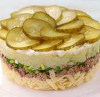 Салат из печени трески – классический рецепт вкусной закуски, каждому знакомой