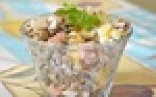 ТОП-5 салатов с ветчиной