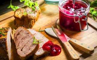 Ягодный соус к мясу: со вкусом и пользой