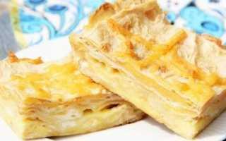 Пирог из лаваша с сыром в духовке— на скорую руку, рецепты начинок