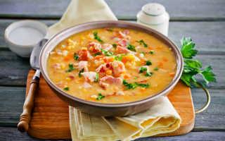 Суп гороховый с колбасой: бюджетный вариант сытного первого блюда