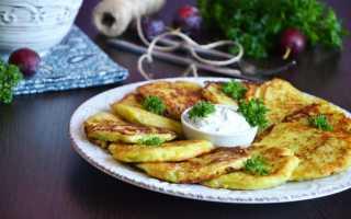 Драники из картошки и кабачков