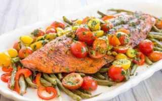 Семга с овощами: рецепт с описанием и фото, особенности приготовления