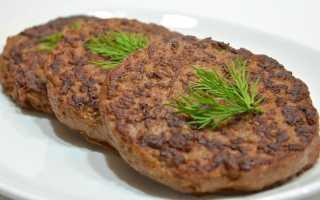 Котлеты из печени говяжьей – маскируем полезный субпродукт! Котлеты из говяжьей печени: традиционные и авторские рецепты