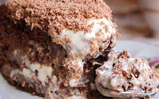 Шоколадный торт на кипятке лучшие рецепты