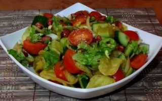 Салат с чипсами рецепты приготовления