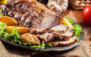 Сочная вкусная свинина в фольге
