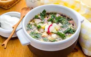 Рецепты приготовления классической и оригинальной окрошки на квасе