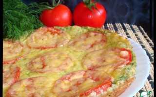 Пицца из кабачков — лучшие рецепты приготовления