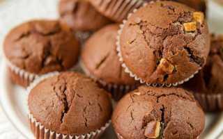 Рецепты шоколадных маффинов