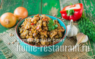 Сытная чечевица с курицей: вкусные блюда