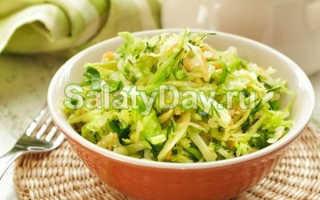 Салат с капустой и копченой колбасой – простые и вкусные рецепты закуски на каждый день