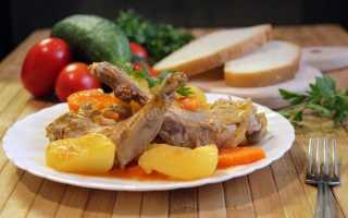 Кролик, тушеный с картошкой: как потушить в кастрюле, казане, мультиварке – рецепты приготовления