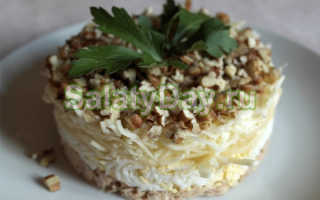 Как приготовить салат Принц по пошаговому рецепту с фото