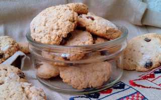 Овсяное печенье в домашних условиях — 5 рецептов очень вкусного печенья из овсяных хлопьев