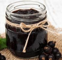 Рецепты варенья пятиминутка из черной смородины