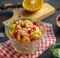 Салат Стрелы амура: рецепт с креветками