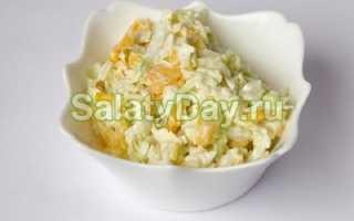 Салат со свежей капустой и кукурузой рецепты от кулинаров