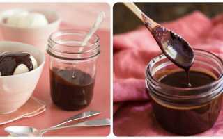 Сироп шоколадный: рецепты приготовления в домашних условиях