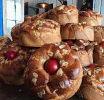 Цуреки — греческий пасхальный хлеб