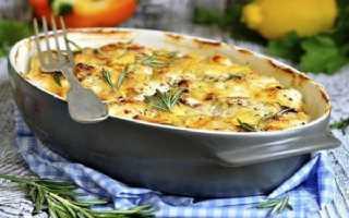 Картофельная запеканка с грибами, рецепт с фото