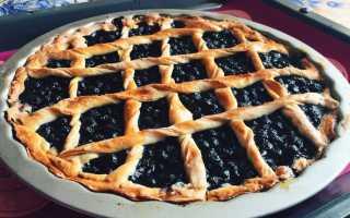 Черничный пирог — 6 вкусных и простых рецептов