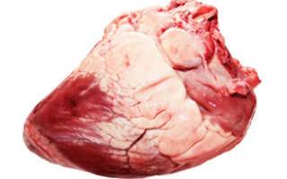 Говяжье сердце тушеное: рецепты и особенности приготовления