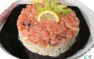 Салат с авокадо и семгой — правильные рецепты. Быстро и вкусно готовим салат с авокадо и семгой