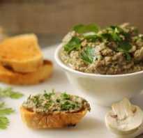 Грибной паштет: лучшие рецепты приготовления в домашних условиях