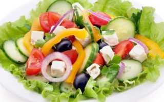 Классический рецепт греческого салата с фото, все секреты и три соуса