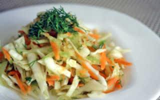 Салат из капусты и редьки: рецептвесеннего блюда