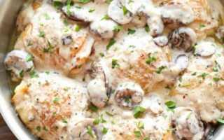 Куриное филе в грибном соусе: пошаговый рецепт с фото. Как приготовить куриное филе в грибном соусе в мультиварке?