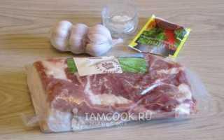 Как приготовить свиной рулет из грудинки. Рулет из свиной грудинки запеченный