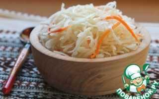 Салат из квашеной капусты – рецепты приготовления