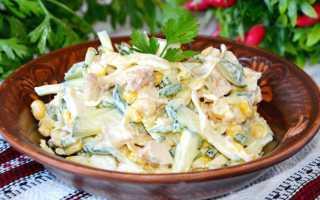 Салат с омлетом и курицей: рецепты любой сложности