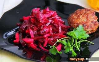 Свекольный салат с яблоками – свежесть и польза