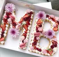 Торт-цифра: пошаговый рецепт с фото