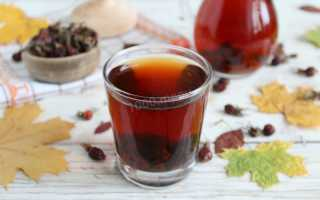 Компот из шиповника — 7 рецептов, как сварить вкусный и полезный компот