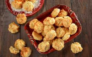 Печенье «Кокосанка» — 6 рецептов, как приготовить в домашних условиях