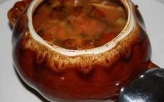 Супы в горшочках — блюдо из традиционной кухни