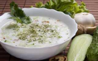Как приготовить болгарский и литовский холодный суп на кефире с огурцом, а также другие рецепты